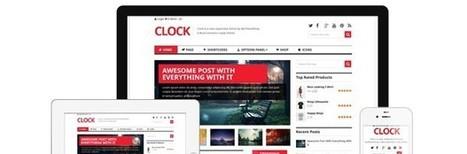Clock WooCommerce WordPress Theme by MyThemeShop - WP Daily Themes | Free & Premium WordPress Themes | Scoop.it
