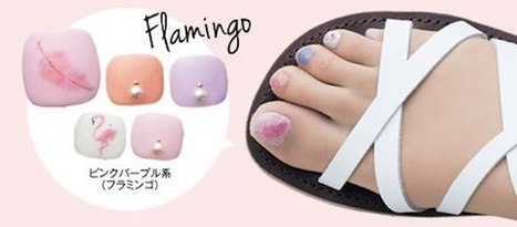 Japanese stockings now come with ready-made nail polish | Hosiery & Lingerie | Scoop.it