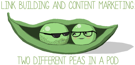Link Building and Content Marketing: Two Different Peas in a Pod by @linkbuildingjon | SMX London 2014 Topics | Scoop.it