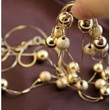 Hot Punk Style Multilayer Round Metal Ball Coat Chain,Necklaces SP31410 | fashion and cheap jewelry | Scoop.it