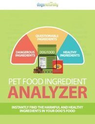 Is Your Dog 's Food Toxic? How can you know if there are dangerous ingredients in your dog's food?  Recently Dogs Naturally created a Dog Food Ingredient Analyzer Tool.  It enables you to loo... | Dogs | Scoop.it