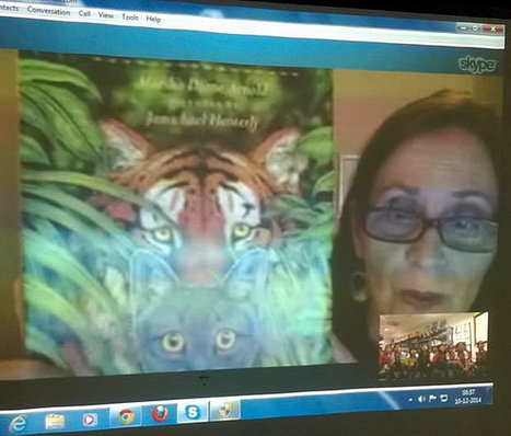 Virtual Author Visits in Your Library or Classroom - Skype An Author Network | 21 century Learning Commons | Scoop.it