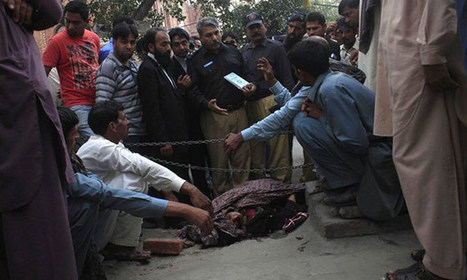 Pregnant Pakistani woman stoned to death by family | Peine de mort | Scoop.it