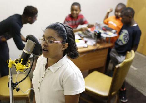 Eight-week academy teaches literacy through hip-hop - Waterloo Cedar Falls Courier   Learning activities for kids   Scoop.it
