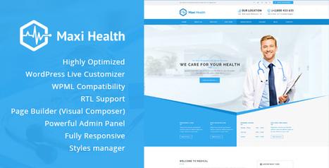 Maxi Health - Responsive Medical WordPress Theme (Health & Beauty) Download   Wordpress Themes Download   Scoop.it
