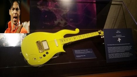 Prince yellow, Mythical Yellow Guitar Auction soon   The Univers News - Latest Online News   Scoop.it
