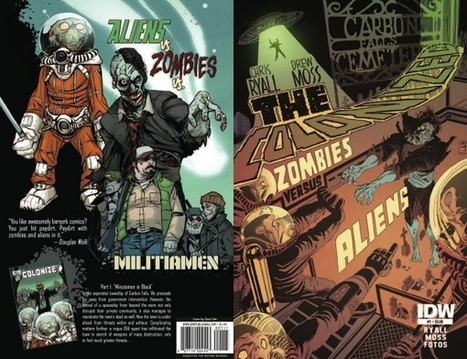 The First Half Of The Colonized #1 - Zombies Vs Aliens WIth Sim And Byrne Covers | Comic Books | Scoop.it