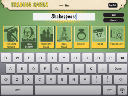 Advisor / ReadWriteThinks Trading Cards App!  Sorry, bubble gum not included | school library apps | Scoop.it