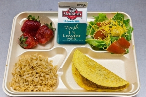 School Lunches Healthier, Just as Wasteful | Food issues | Scoop.it
