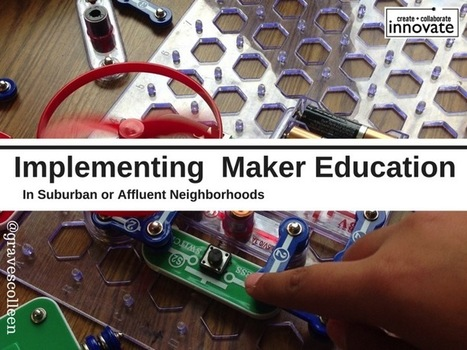 School Library Makerspace Strategies Webinar with Colleen Graves @GravesColleen  | iPads, MakerEd and More  in Education | Scoop.it