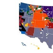 Facebook Data Provides The Most Accurate NFL Fandom Map Ever Created | Visualisation | Scoop.it