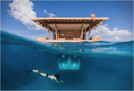 Underwater Room, un bungalow « sous » l'océan indien | Déco & tendances contemporaines | Scoop.it