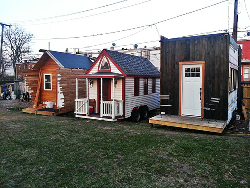 Tiny houses eco friendly dream homes green living 4 live green living 4 live we believe - The tiny house village a miniature settlement ...