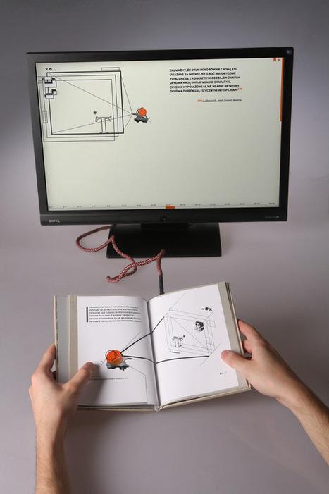 Elektrobiblioteka de Waldek Węgrzyn, diseño editorial de un libro electrónico   Diseño en Polonia   Experimenta   Polonia en español   Scoop.it