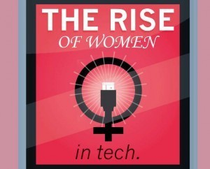 The Rise of Women in Tech – the ultimate infographic | Trends in Tech | Scoop.it
