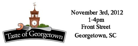 Taste Of Georgetown, SC | The Grand Strand of South Carolina | Scoop.it
