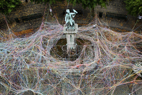 Karoline H. Larsen: Jungle of Strings | Art Installations, Sculpture, Contemporary Art | Scoop.it