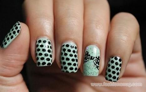 Easy Steps Of Polka Dot Nail Art Designs - Guideline | Fashion Blog | Scoop.it