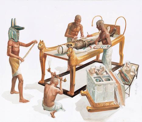 Heródoto nos cuenta sobre las momias egipcias ~ Arqueología en mi jardín   Mundo Clásico   Scoop.it