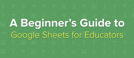 A Beginner's Guide to Google Sheets for Educators | Imagine Easy Solutions | 21st Century Literacy and Learning | Scoop.it
