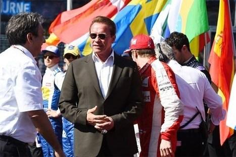 Schwarzenegger tegengehouden voor fietsen zonder helm   Cluster  AAV Ichraf   Scoop.it