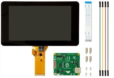 La Raspberry Pi ya tiene pantalla táctil oficial: hazte con ella por 60 dólares | Tecnología ESO | Scoop.it