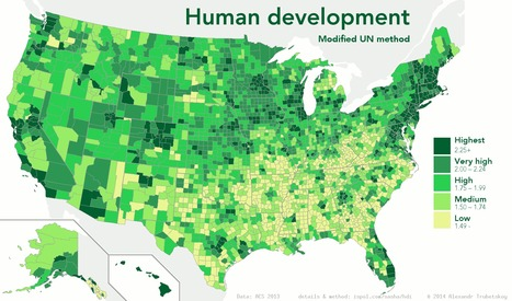Human Development Index variation | Geography Education | Scoop.it
