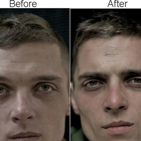 Mesmerizing Photographs Of Soldiers' Faces Before And After A War   Cuerpo   Scoop.it
