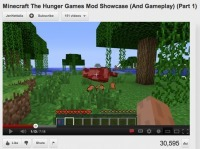 Meanwhile, over on Minecraft The Hunger Games are running 24/7 | #transmediascoop | Scoop.it