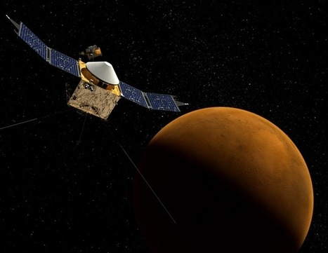 MAVEN to answer the mystery of Mars' missing atmosphere   Learning, Teaching & Leading Today   Scoop.it