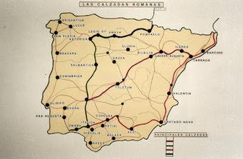 Principales Calzadas romanas y ciudades en Hispania | José Ignacio Casado Hernanz: Roma en España | Scoop.it