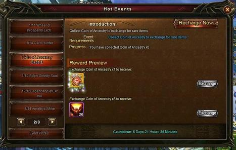 Wartune Addicts Blog: Wartune New Events 01/14 : Great Card Hunt, Battlefield Slaughter, Amethyst Mine, New Coin of Ancestry Exchange! | Wartune Addicts | Scoop.it