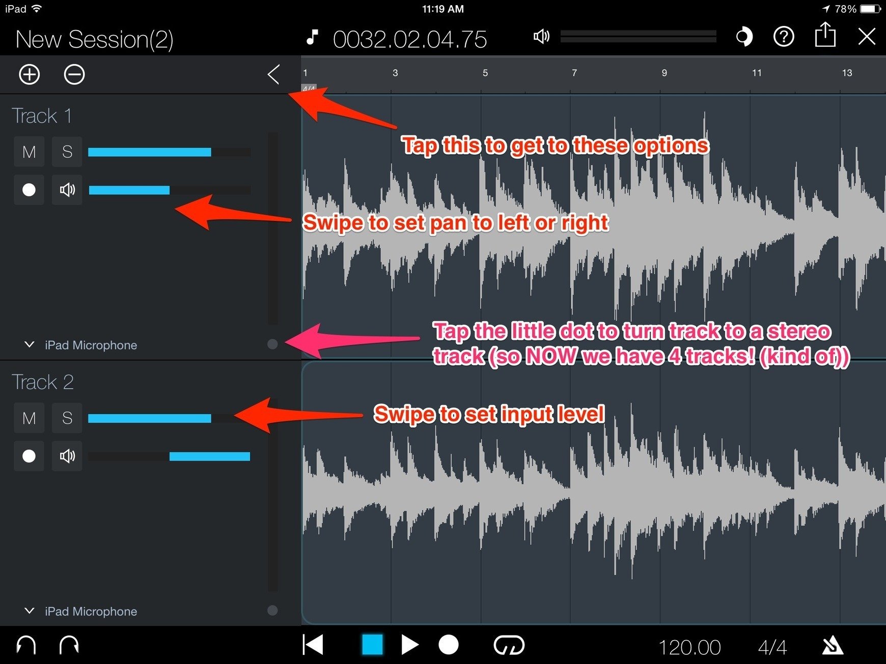 Capture for iPad Arrives - Drop Dead Simple App to Record With! (UPDATED)