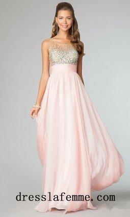 2014 Cheap Blush Beaded Sheer Long Prom Dresses [jovani 91296] - $165.00 : Cheap La Femme Dresses,Homecoming Dresses On Sale | sherri hill prom dresses 2014 | Scoop.it
