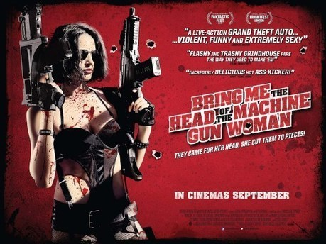 Bring Me The Head of The Machine Gun Woman, in ... - Horror Society | Mondo B-movies Queens | Scoop.it