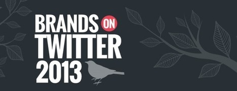 Rapport : Les marques adoptent massivement Twitter en 2013 | Scoop4learning | Scoop.it