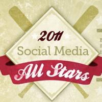 2011 Social Media All Stars: Social Media Infographic With A MLB Twist | visualizing social media | Scoop.it