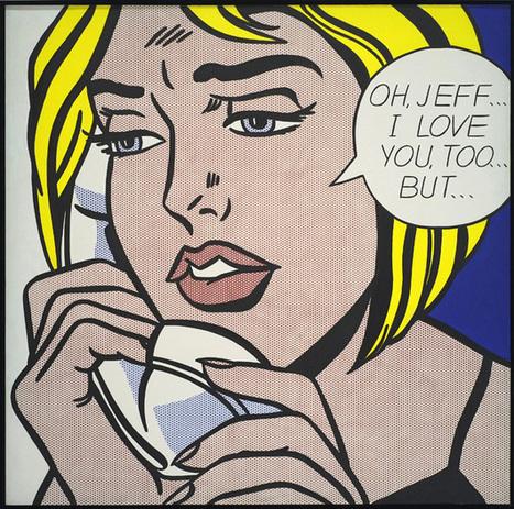 Visite de l'exposition Roy Lichtenstein au centre Pompidou - L'œil de Fred | Expositions Centre Pompidou | Scoop.it
