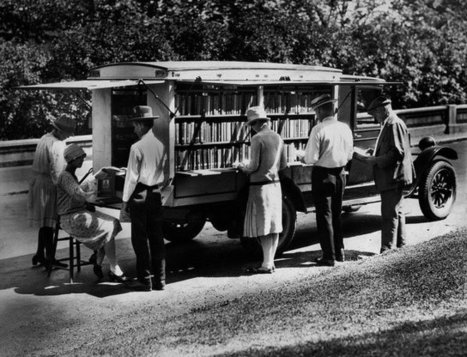 Historical Photos of Early Bookmobiles | libraries | Scoop.it