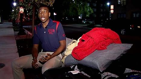 'Homeless at Howard' Student Gets Help from Alum | Middays with Becky in DC | Scoop.it