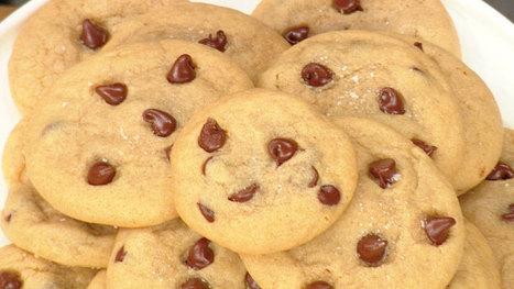 Hailee's Chocolate Chip Sea Salt Caramel Cookies | ♨ Family & Food ♨ | Scoop.it