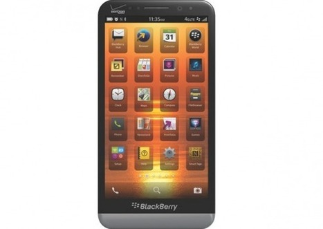 BlackBerry Z30 hits Verizon with 5-inch display | Mobile IT | Scoop.it