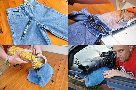 Make a DIY Bean Bag Stabilizer Using Old Jeans and Some Lentils | Filmmaking & Filmmakers | Scoop.it
