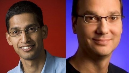 Andy Rubin out – Sundar Pichai in – as head of Android   Android tools, techniques and features   Scoop.it