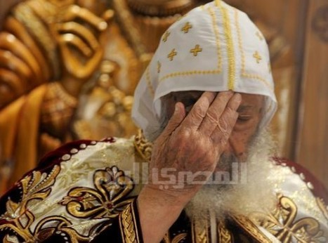 Pope Shenouda: Peace prevails thanks to SCAF and Interior Ministry | Égypt-actus | Scoop.it