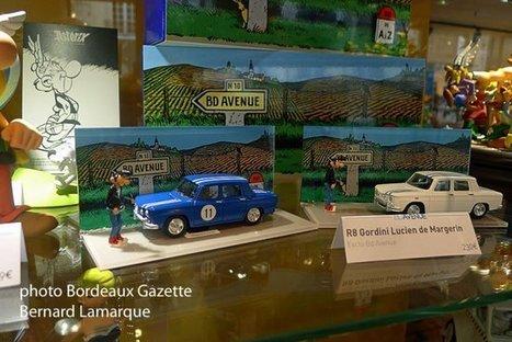 Renault 8 Gordini miniature: A BD Avenue, le Lucien de Margerin prend une nouvelle dimension grâce aux « Minialuxe ».   COLLECTION DE JOUETS ANCIENS   Scoop.it