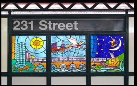 New York Subway Art: Now in Your Pocket | Elementary Art Education and Technology | Scoop.it