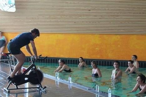 Vert Marine : Le boom de l'aquacycling - SPORTMAG | Aquabike | Scoop.it