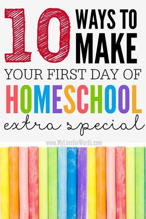 10 Ways to make your first day Homeschooling extra special | HCS Learning Commons Newsletter | Scoop.it