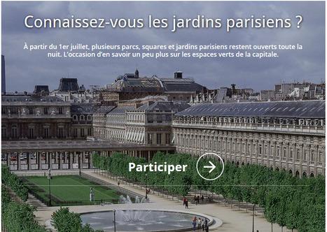 Le Figaro Premium - Connaissez-vous les jardins parisiens? | Remue-méninges FLE | Scoop.it